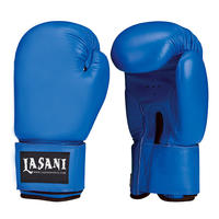 BASIC LEATHER BOXING GLOVES -103 BLUE