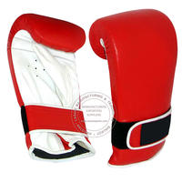 BOXING PUNCH BAG GLOVES - RED