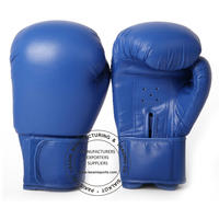 KIDS YOUTH BOXING GLOVES - TRAINING - SPARRING  - 109 BLUE