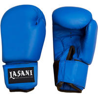 Vinyl Boxing Gloves - Blue