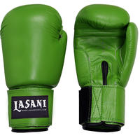 BASIC LEATHER BOXING GLOVES -103 GREEN