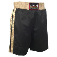 Black Gold Boxing Trunks