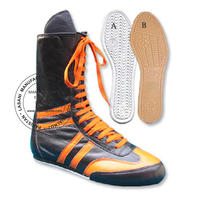 Genuine leather Boxing Boots