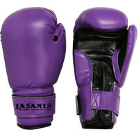 KIDS YOUTH 4OZ 6OZ 8OZ VINYL BOXING GLOVES - PURPLE