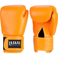 Orange Boxing Gloves Leather