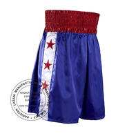 Red Star Blue Boxing Shorts