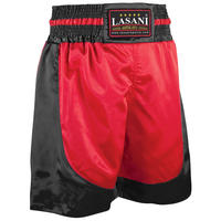 Boxing Black Red Trunks