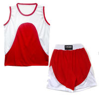 Boxing Outfit Red