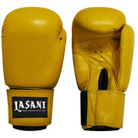 BASIC LEATHER BOXING GLOVES -103 YELLOW