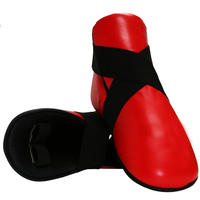 Leather Semi Contact Foot Protector