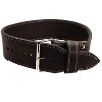 Polished Leather 13mm 1 Prong Belt