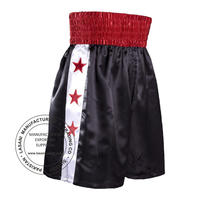 Red Star Black Boxing Shorts