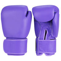 Purple Boxing Gloves -110