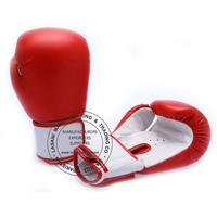BOXING GLOVES - TRAINING - COMPETITION -105 RED
