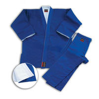 Reversible Judo Uniform White-Blue