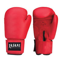 Red Vinyl Boxing Gloves  108
