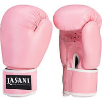 LEATHER BOXING GLOVES - TRAINING - SPARRING - 102 PINK