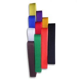 Plain Solid Color Rank Belts
