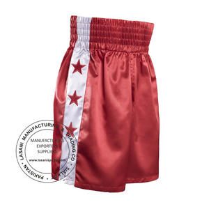Star Boxing Shorts Red