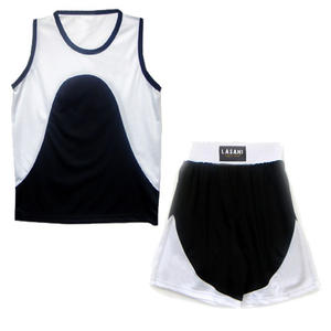 Boxing Outfit Set Black